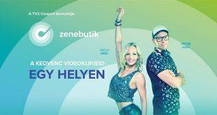 Augusztus 15-től Zenebutik – A kedvenc videoklipjeid egy helyen