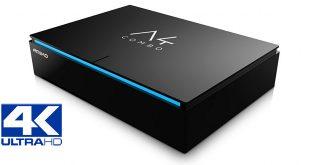 Amiko A4 Combo 4K UHD – TV vétel Android alapokon v2.0