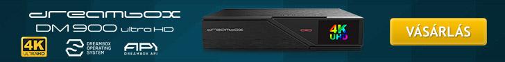 Dreambox DM900 UHD műholdvevő