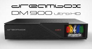 Dreambox DM900 UHD 4K vevőkészülék bemutató