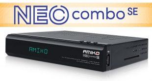 Amiko NEO Combo SE műholdvevő teszt