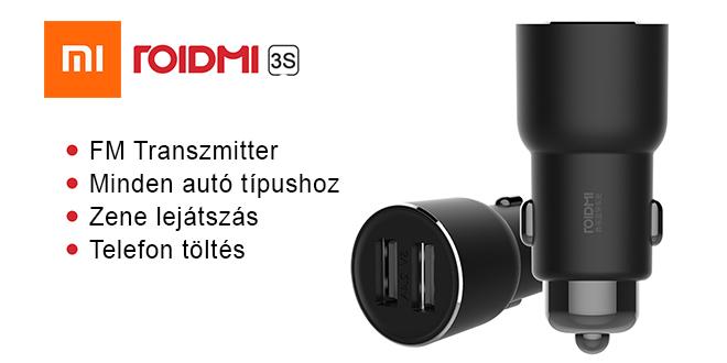 Xiaomi-ROIDMI-3S-Bluetooth-Music-Car-Charger – DigiPortál ... 1ed362bead