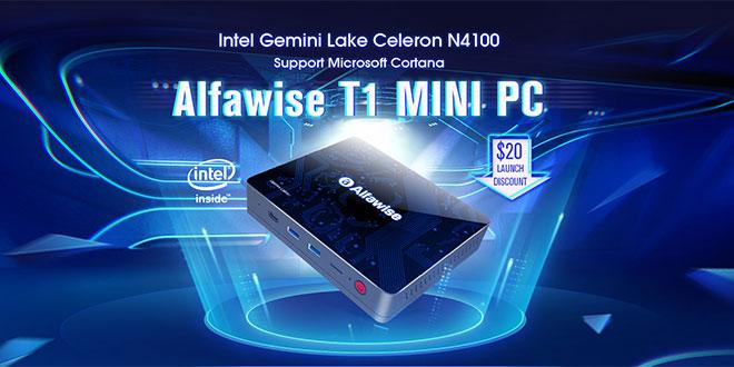 Alfawise T1 mini PC teszt – A tökéletes irodai PC