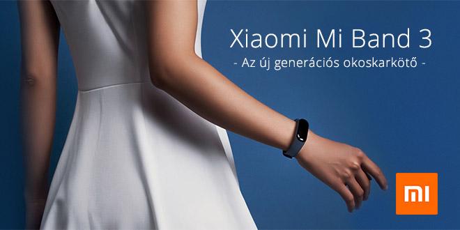 Xiaomi Mi Band 3 teszt – Egyszerű, de nagyszerű aktivitásmérő okos karpánt