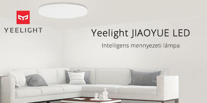 Yeelight JIAOYUE YLXD05YL 480 LED okos mennyezeti lámpa teszt