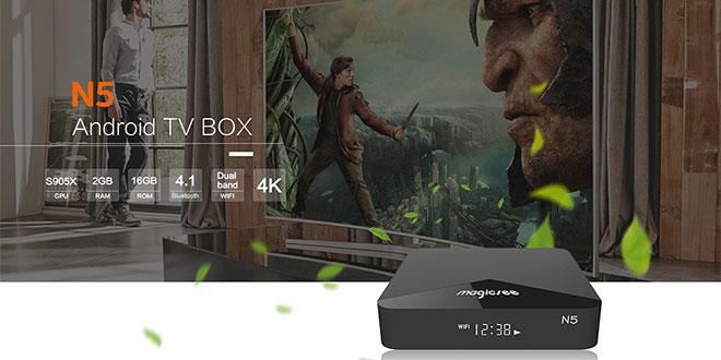 Magicsee N5 TV Box teszt