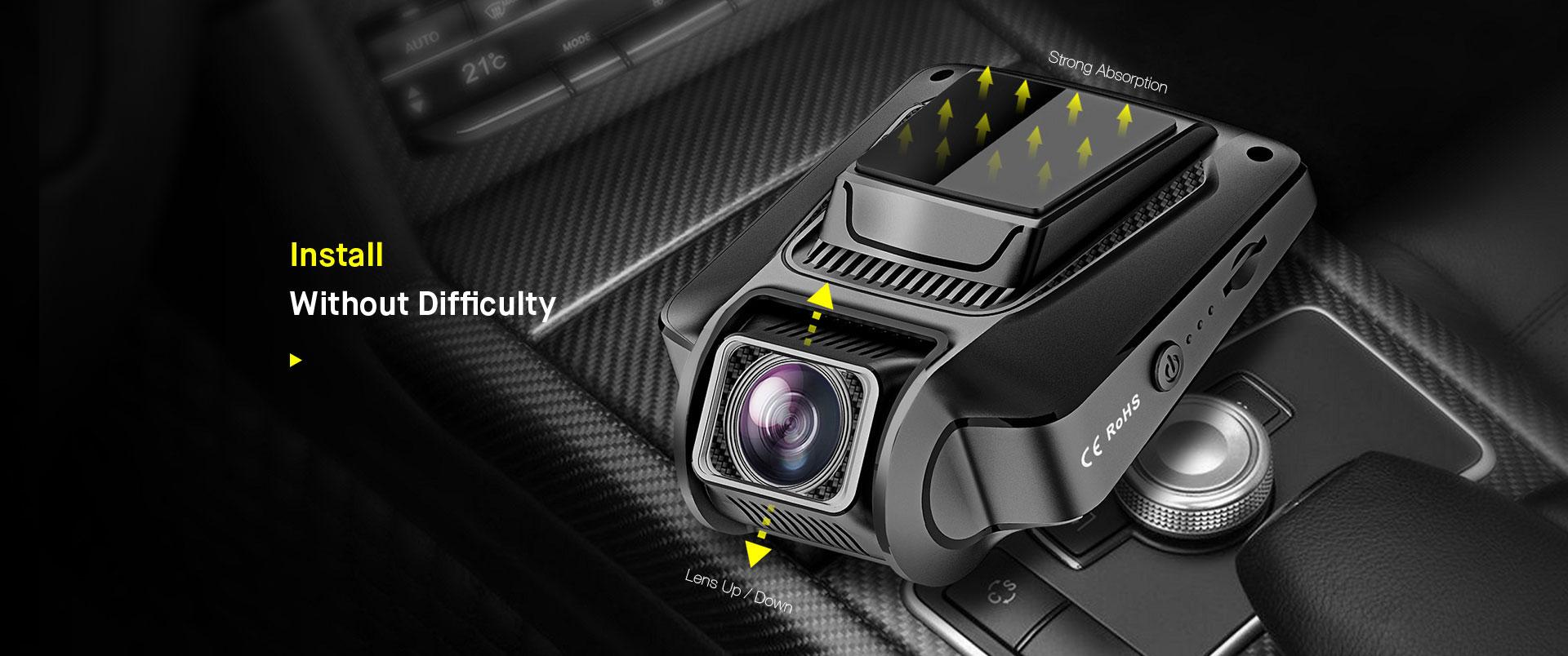Éjjellátó kamera autóba