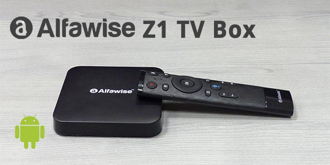 Alfawise Z1 TV BOX teszt – Tévé okosító beszélős távirányítóval