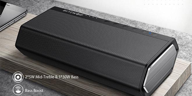BlitzWolf BW-AS2 Bluetooth hangszóró bemutató