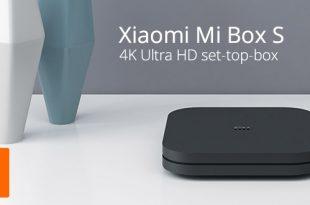 Xiaomi Mi Box S Android Set-tob-box