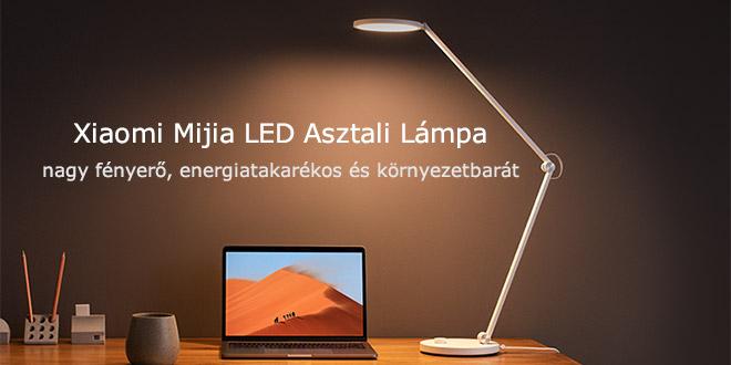 Xiaomi Mijia MTJD02YL Szemkímélő Asztali LED Lámpa – Nemcsak modern, okos is