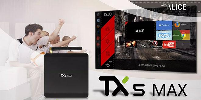 Tanix TX5 Max teszt – Android TV Box egyedi menüvel
