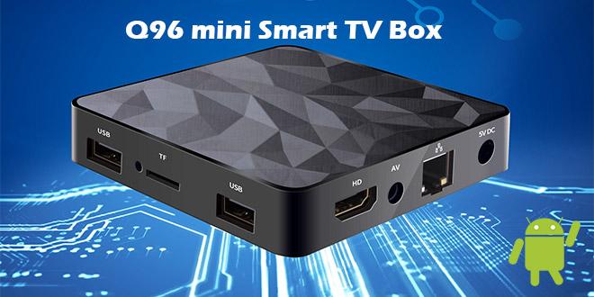 Q96 Mini Smart TV Box – Olcsó, de használható TV okosító