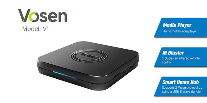 Vosen V1 TV Box teszt – Okos otthon HUB és IR jeltovábbító egyben