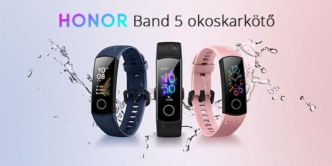 Huawei Honor Band 5 okoskarkötő teszt – magyarul is beszél