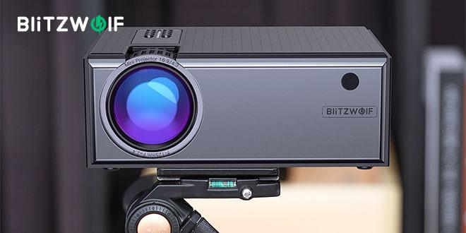 Blitzwolf BW-VP1 projektor bemutató és teszt – Olcsó HD kivetítő otthonra