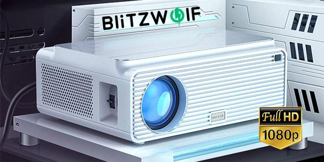 Blitzwolf BW-VP2 Full HD Projektor teszt – olcsó és meglepően jó otthoni kivetítő