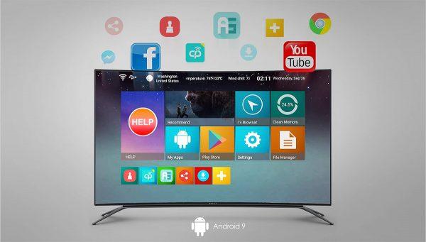 Android TV okosítón lévő alkalmazások