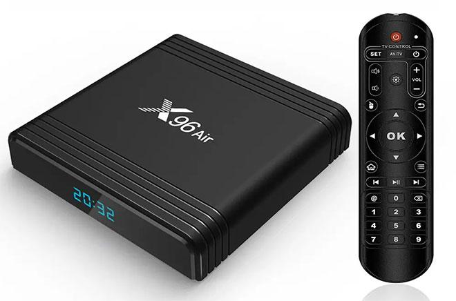 X96 Air Android TV okosító