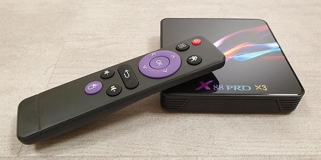 X88 Pro X3 Android TV Box teszt – A költségtakarékos megoldás TV okosításra