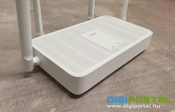 Igényes a Redmi AX5 router kinézete