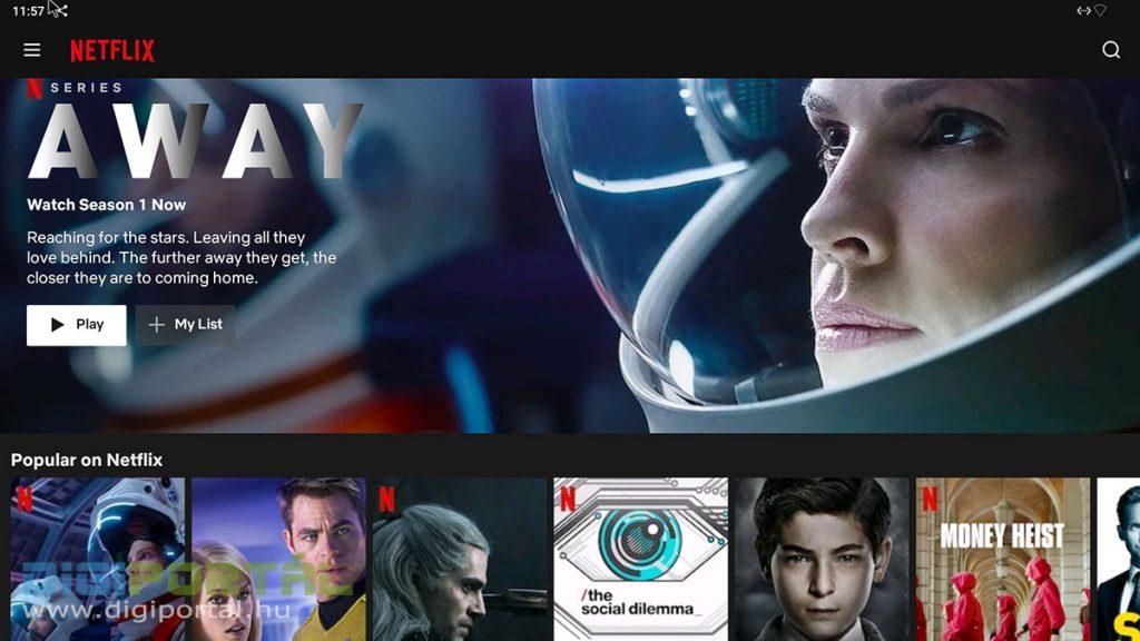 Netflix a Beelink GS-King X-en