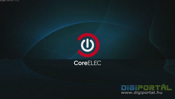 A CoreELEC is működik a Beelink GS-King X TV Box-on