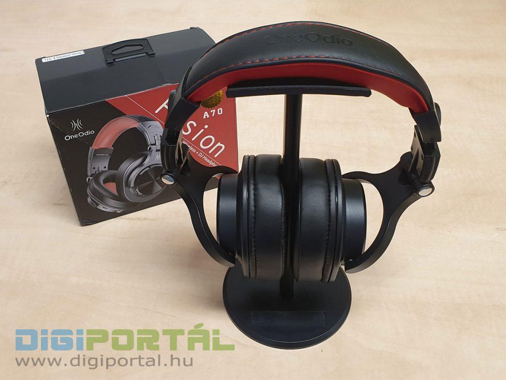 Az OneOdio A70 fejhallgató a válóságban