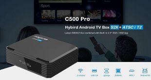 Magiscee C500 Pro TV Box bemutató