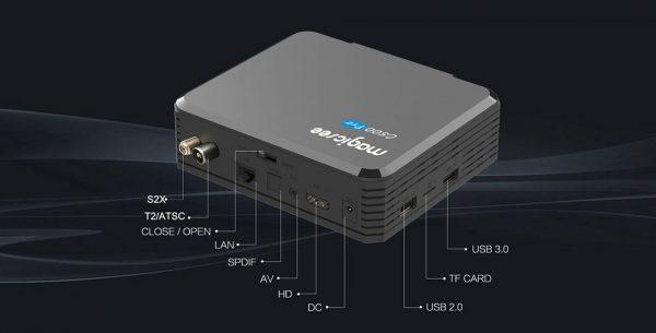 A Magicsee C500 Pro csatlakozói
