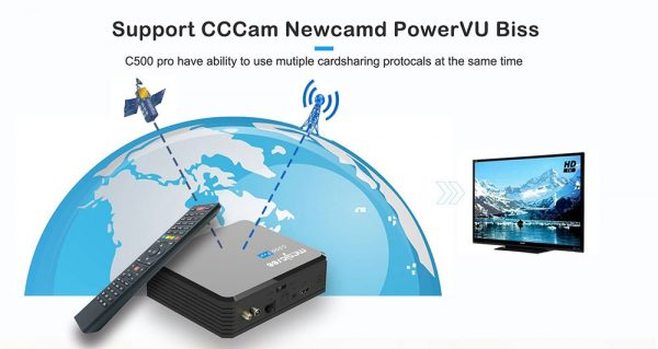 cccam, Newcamd támogatás is van benne