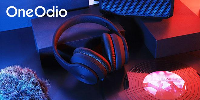 OneOdio A40 Bluetooth fejhallgató bemutató