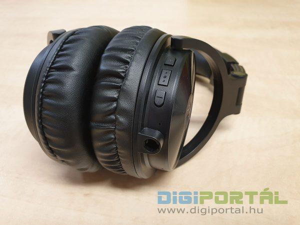 Bluetooth kezelőszervek a jobb oldalon