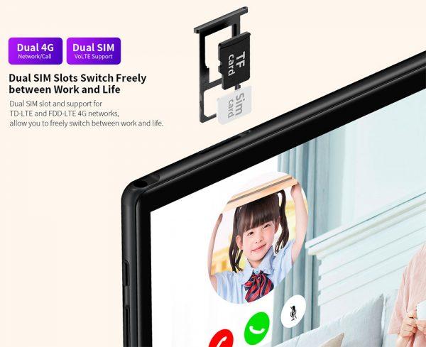 SIM kártyát is tud fogadni a Teclast M40 tablet