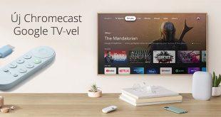 Megérkezett az új Chromecast Google TV-vel