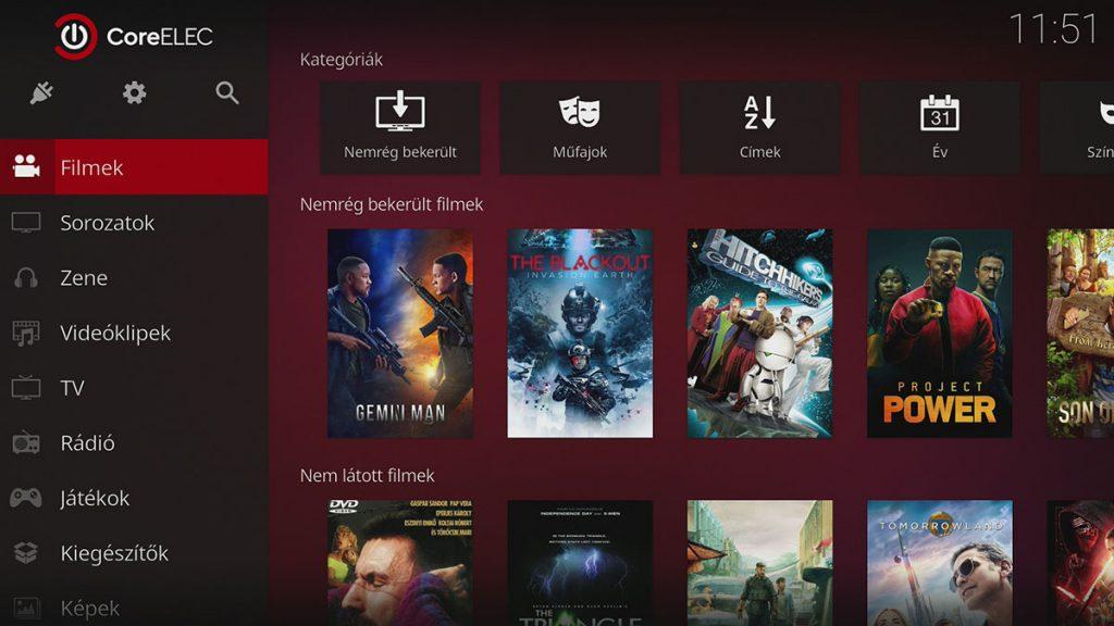 CoreELEC is futtatható a TV Box-on