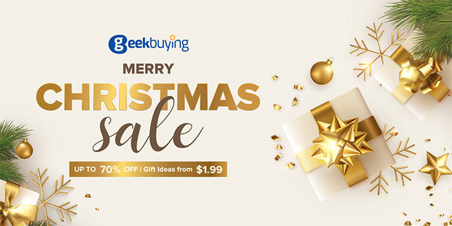 Geekbuying karácsony