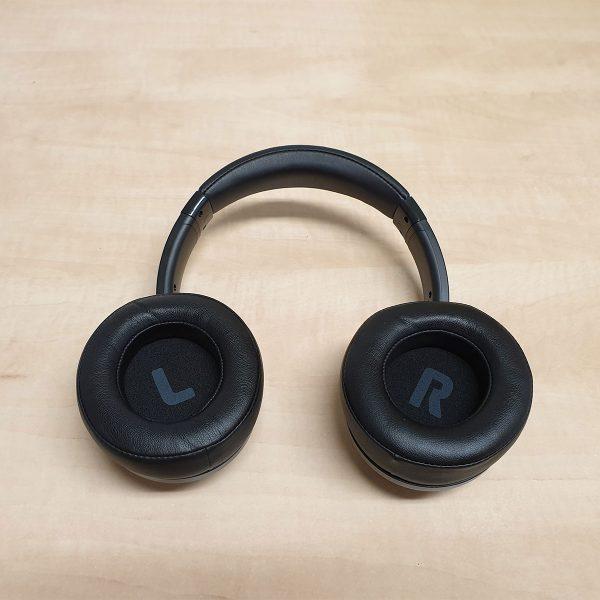 90 fokban kifordított A30 fejhallgató
