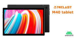 Teclast M40 tablet teszt