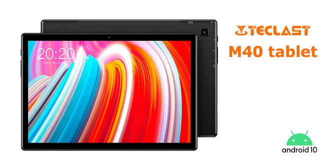 Teclast M40 Tablet Teszt: Középkategóriás nagyágyú
