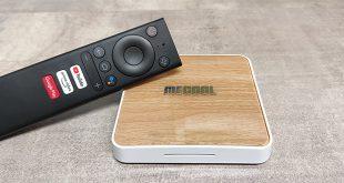 Mecool KM6 Deluxe TV Box bemutató teszt