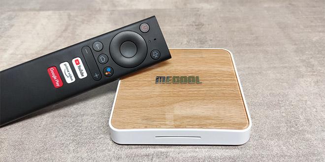 Mecool KM6 Deluxe TV Box teszt – Android TV új köntösben