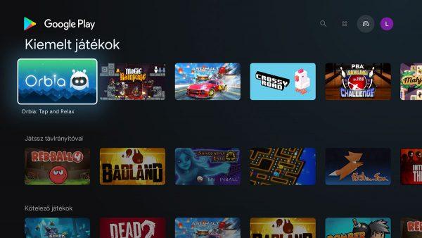 Játszani is lehet a TV Box-al
