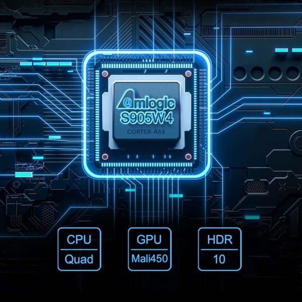 Az új Amlogic S905W4 cpu