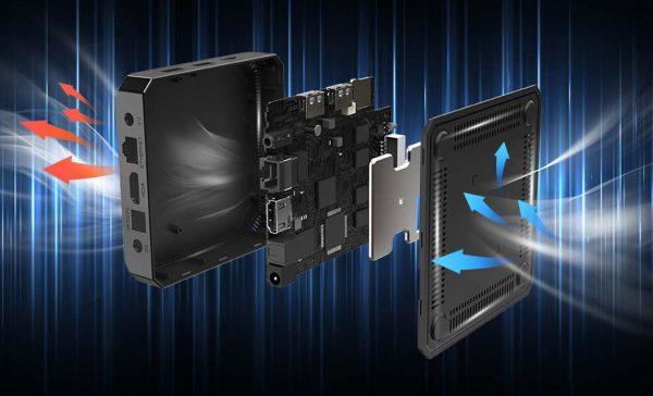Az X96 mini+ készülék hardveres tulajdonságai