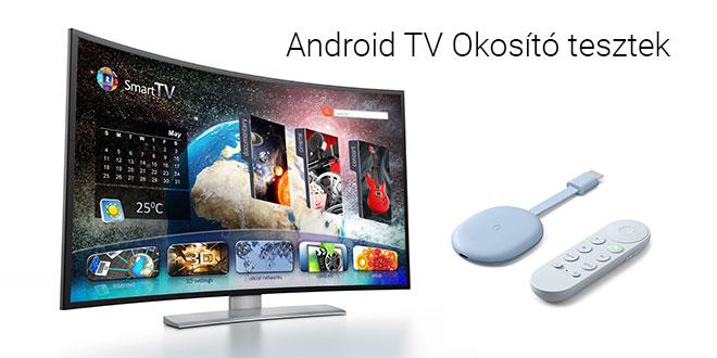 Android TV okosító tesztek