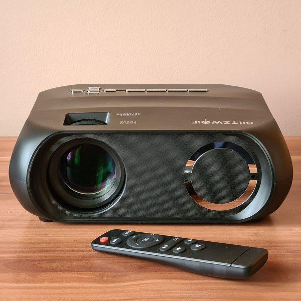 A Blitzwolf BW-VP11 HD projektor bemutató