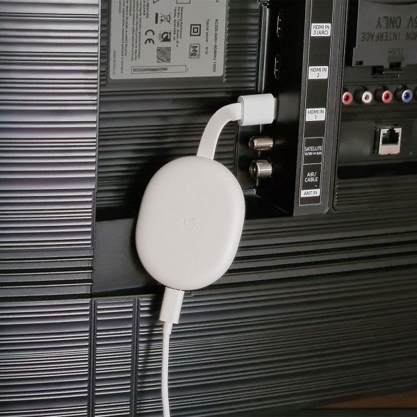 A Chromecast használat közben