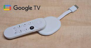 Chromecast with Google TV bemutató teszt