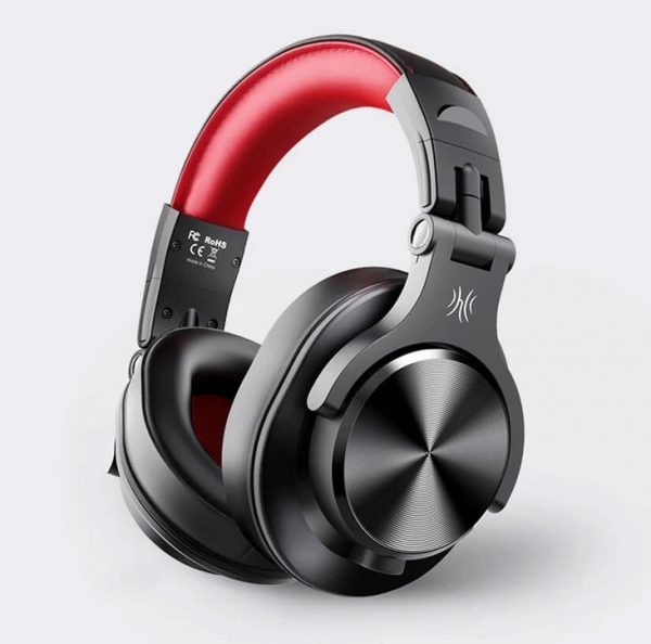 OneOdio A70 piros vezeték nélküli fejhallgató